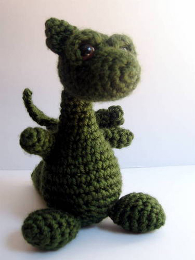 Amigurumi Dragon Wings Pattern : Amigurumi Dragon Geek Crafts