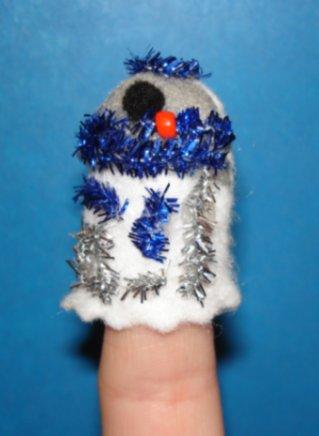 R2-D2 Finger Puppet